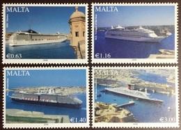 Malta 2008 Cruise Liners Ships MNH - Malta