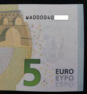 5 Euro / Germany / W001A4 / WA000040xxxx / Perfect UNC - 5 Euro