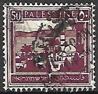 PALESTINE     -    1927 .  Y&T N° 75 Oblitéré. - Palestine