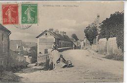 95, Val D'Oise, AUVERS SUR OISE, Rue Victor-Hugo, Scan Recto Verso - Auvers Sur Oise