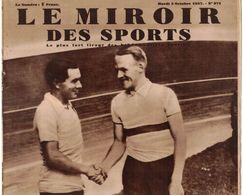 LE MIROIR DES SPORTS 971 1937 MILAN LOS ANGELES ST CLOUD GAND MALINES PUYO ENDEAVOUR DESIRE LERICHE ET FAUVETTE GOSPORT - Livres, BD, Revues
