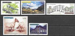 Andorra Andorre 2014 Lot Tintipella, Vall Del Madriu, Engordany, Balmaseda, Museu MNH Mint Neuf Postfrisch ** - French Andorra