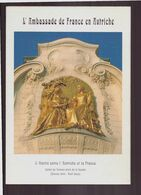 """Dépliant Touristique """" L'ambassade De France En Autriche """" 2005 - Folletos Turísticos"""