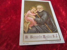 Devotieprentje,B Bernardin Realino - Santini