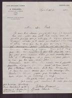 """Lettre à En-tête """" Café Brasserie Kléber """" à Lyon, Du 4 Décembre 1922 - Manuscritos"""