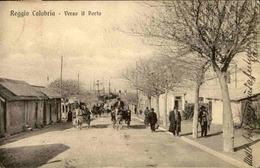 ITALIE - Carte Postale - Reggio Calabria - Verso Il Porto - L 66952 - Italy