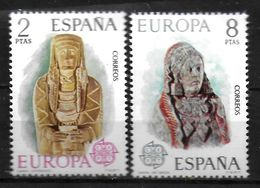 ESPAGNE  N° 1829/30  * *  Europa Sculptures - 1974
