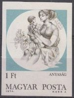 Hongrie Hongarije Ungarn 1974 Yvertn° 2401 ND *** MNH Cote 4 € Maternité - Hungría