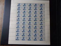 France N°743 - LOUIS XI - Feuille De 50 Exemplaires - Neuf ** Sans Charnière - TB - Neufs