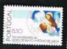 PORTOGALLO (PORTUGAL)  -  SG 1845  - 1981 ST. ANTHONY OF LISBON  -     USED° - 1910-... République
