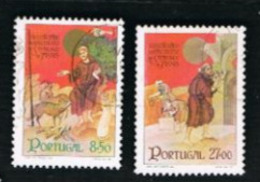 PORTOGALLO (PORTUGAL)  -  SG 1865.1866 - 1982 S. FRANCESCO DI ASSISI (COMPLET SET OF 2) -     USED° - 1910-... République