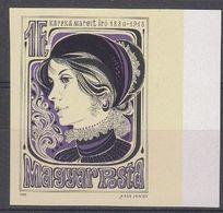 Hongrie Hongarije Ungarn 1980 Yvertn° 2730 ND *** MNH Cote 4  € Margit Kaffka - Hungría