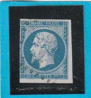 N° 14 A    - Oblitération PC   - LOT JC + Variété - 1853-1860 Napoléon III