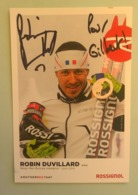 SKI - ROBIN DUVILLARD....Signature...Autographe Véritable..... - Autographes