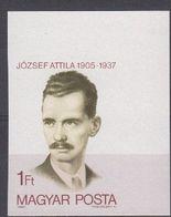 Hongrie Hongarije Ungarn 1980 Yvertn° 2725 ND *** MNH Cote 3,50  € Attila Jozsef - Hungría