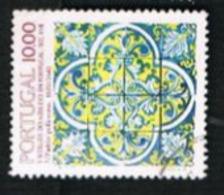 PORTOGALLO (PORTUGAL)  -  SG 1893 - 1982 TILES: QUADRILOBATE PATTERN -     USED° - 1910-... République