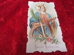 Devotieprentje,Sainte Catherine - Santini