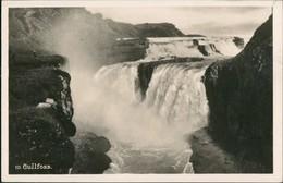 Postcard Thingvellir Þingvellir Gullfoss Island Iceland 1928 - IJsland