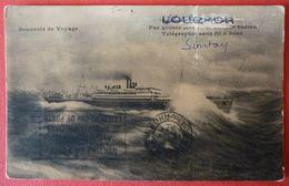SOUVENIR DE VOYAGE - FRENCH STEAMER SS.LOUQSOR - Piroscafi