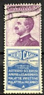 ITALY / ITALIA 1924/25 - Canceled - Sc# 105g - Advertising Stamp / Francobollo Pubblicitario 50c - Siero Casali - Nuevos
