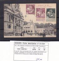 N° 88 Et 89 / Carte Atypique Adresse Remplacée Par Un Croquis Voir Verso - 1910-1911 Caritas