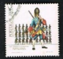 PORTOGALLO (PORTUGAL)  -  SG 1979   - 1985 ARMY UNIFORMS: INFANTRY GRENADIER   -     USED° - 1910-... République