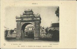 HUE , Palais Du Comat : Porte Ouest , Hué ( Annam ) - Vietnam