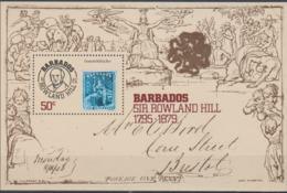 Barbados 1979 Sir Rowland Hill Souvenir Sheet MNH/** (H42) - Philatelie & Münzen