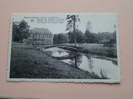 Château De ROBIANO ( A. Dohmen / Albert ) Anno 19?? ( Zie/voir Photo ) ! - Braine-le-Château