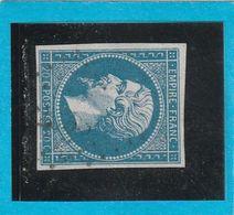 N° 14 A    - Oblitération PC 2033  MONDRAGON  (86)  VAUCLUSE - LOT JC + Variété- IND 12- Cote 80€ - 1853-1860 Napoléon III