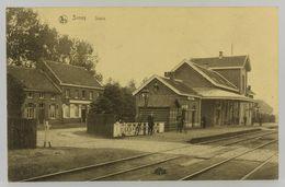 Oude Postkaart - Carte Postale - Sinay - Sinaai Statie Station - Sint-Niklaas