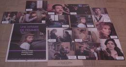 AFFICHE CINEMA ORIGINALE FILM UNE AFFAIRE DE FEMMES + 14 PHOTOS EXPLOITATION CHABROL HUPPERT 1988 TBE - Affiches & Posters