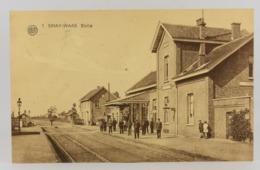 Oude Postkaart - Carte Postale - Sinay Waas - Sinaai Statie Station (2) - Sint-Niklaas