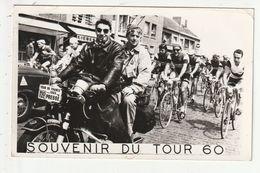 CPSM - CYCLISME - SOUVENIR DU TOUR DE FRANCE 1960 - Wielrennen