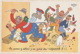 """PUB PUBLICITE PRODUIT PHARMACEUTIQUE Illustrateur DUBOUT Cepevit K  """"tu Peux Y Aller J'ai Pris Du Capavit K """" - Publicidad"""