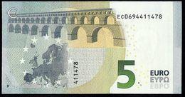 FRANCE - 5 EURO - LAGARDE  E001 F5 EC0694411478  UNC. FRANCIA - SIN CIRCULAR. - EURO