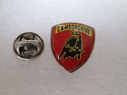 PIN'S   LOGO   LAMBORGHINI   21X19mm - Badges
