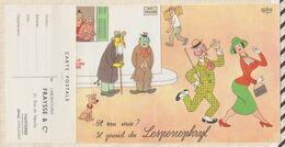 """PUB PUBLICITE PRODUIT PHARMACEUTIQUE Illustrateur DUBOUT LESPENEPHRYL """"et Son Urée ...il Prend Du Lespenephryl"""" - Publicidad"""