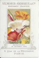 Eschscholtzia  Vilmorin-andrieux  J.minot - Cromo