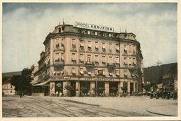 Baden Bei Wien * Hotel Und Fremdenheim Therese EBRUSTER * Josefsplatz 1 * Autriche Osterreich Austria - Baden Bei Wien