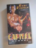 CASSETTE VIDEO VHS CAPITAL COMBAT Gary Daniels - Actie, Avontuur