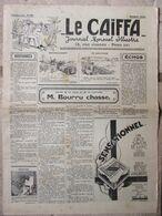 Journal Le Caïffa - Numéro 59 - Octobre 1932 - Mensuel Illustré - Contes De La Ville Et De La Campagne - Publicités - Andere