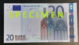 RARE / France / 20 Euro / U / E002 D3 / UNC - 20 Euro