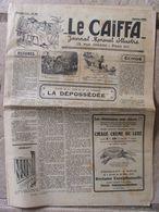 Journal Le Caïffa - Numéro 50 - Janvier 1932 - Nomenclature - Contes De La Ville Et De La Campagne - Publicités - Andere