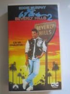 CASSETTE VIDEO VHS Eddie Murphy LE FLIC DE BEVERLY HILLS 2 CA VA CHAUFFER ! (jaquette Abimée) - Actie, Avontuur