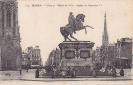 Rouen (76) - Place De L'Hôtel De Ville - Statue De Napoléon 1er - Rouen
