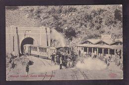 CPA Afghanistan Frontière Avec Le Pakistan Inde India Non Circulé Chemin De Fer Train Gare - Afghanistan
