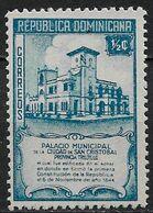 Dominican Republic 1945. Scott #412 (MNH) Municipal Building, San Cristobal - Dominicaanse Republiek