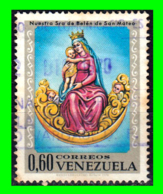 VENEZUELA SELLO AÑO 1970 ARTE RELIGIOSO - Venezuela