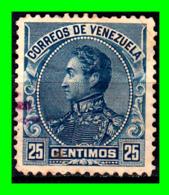 VENEZUELA SELLO AÑO 1889 SIMON BOLIVAR - Venezuela